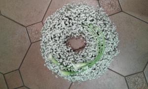 Wreath - Gyp & Calla Lily