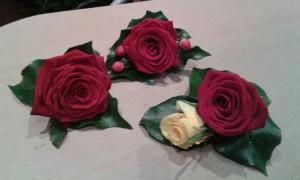 Wedding-Cerise-Rose-Button-Holes-01